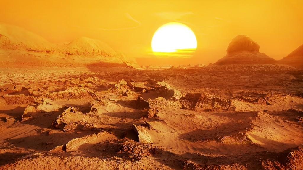 A Dasht-e Lut sivatag (fotó: Getty Images)