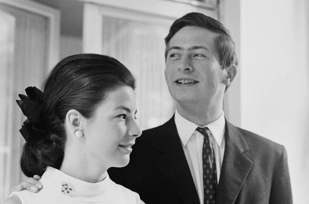 II. János Ádám liechtensteini herceg és felesége Marie hercegnő, 1967. (Fotó: Ronald Dumont/Daily Express/Getty Images)