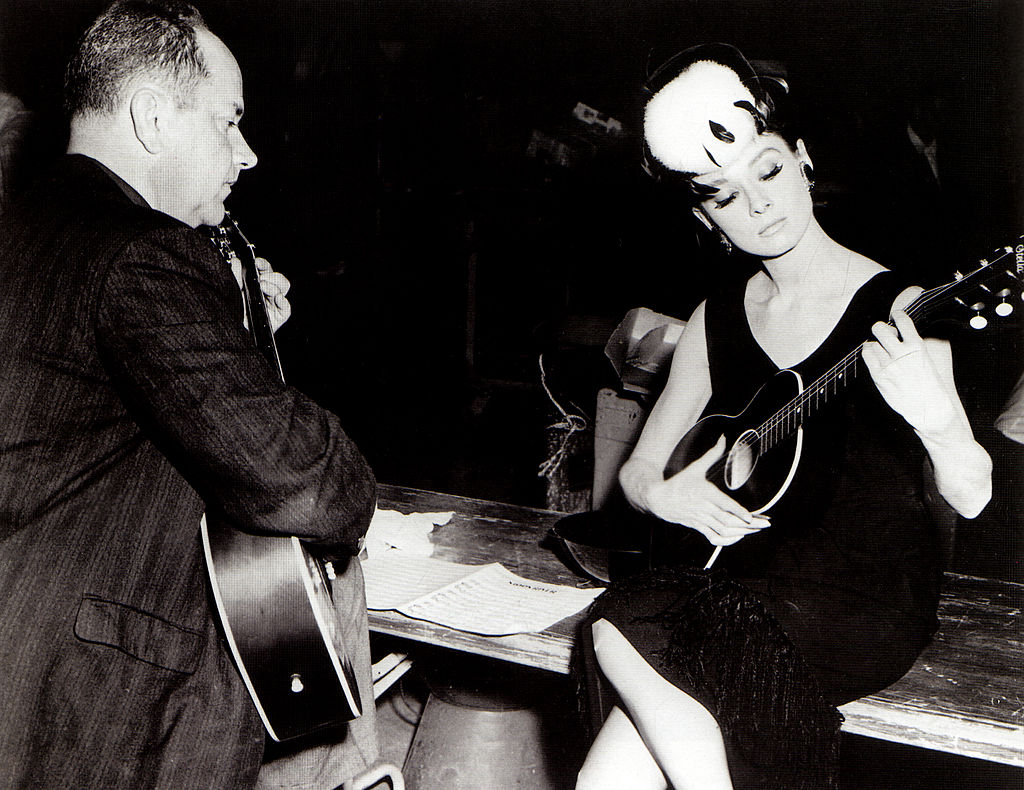 Henry Mancini és Audrey Hepburn