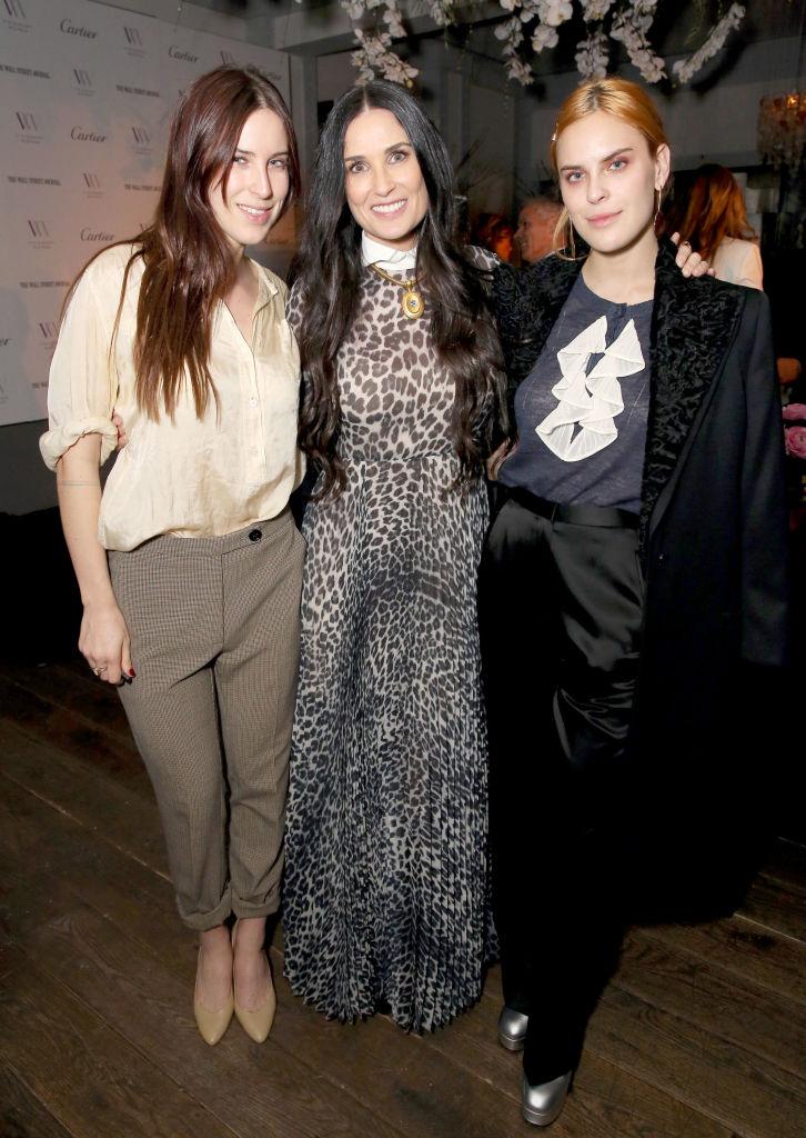 Demi Moore és lányai