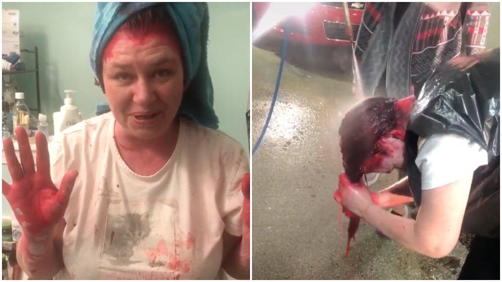 Autómosóban öblítette le a hajfestéket, mert nem akarta összekenni a fürdőszobát