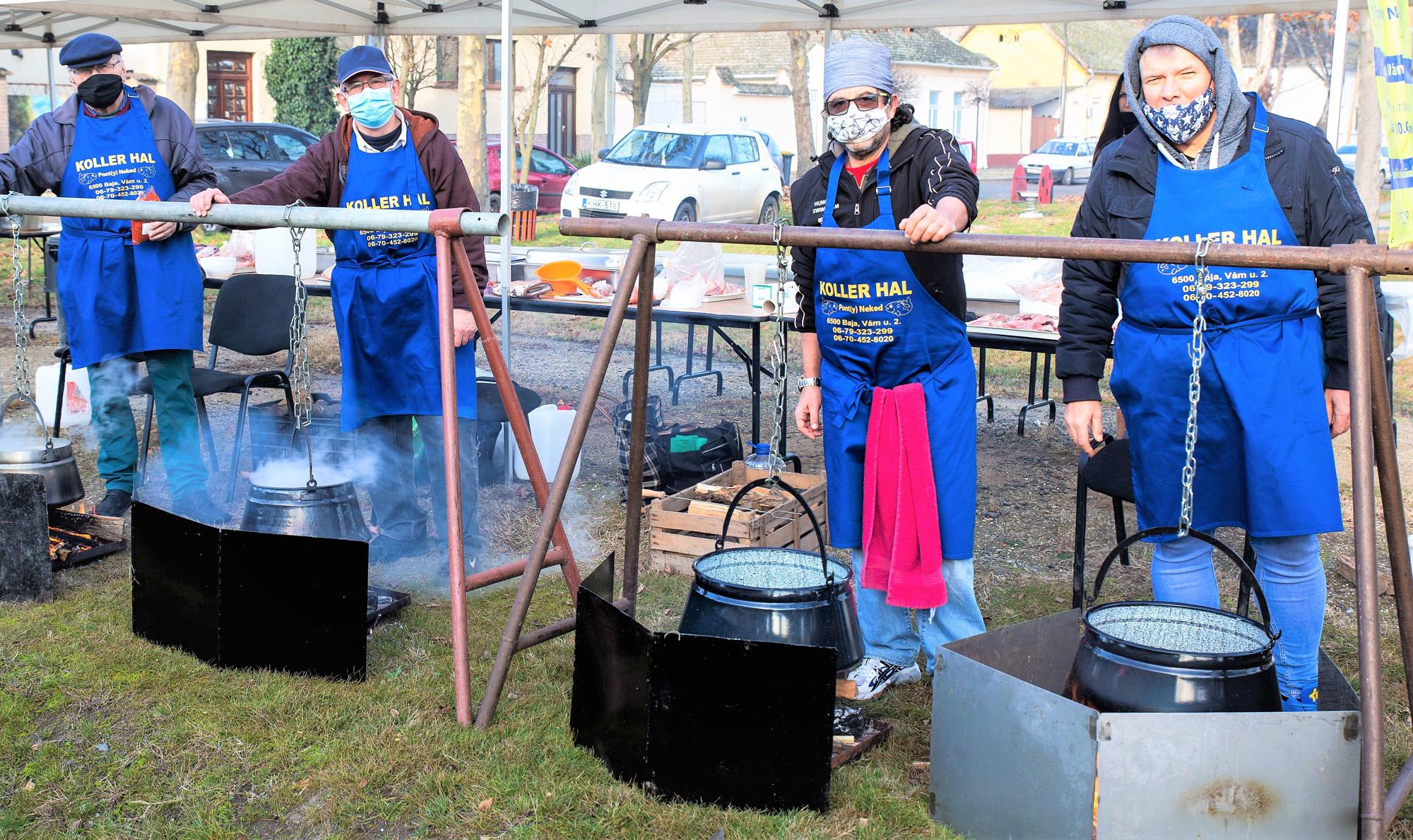 Halászléverseny Baján