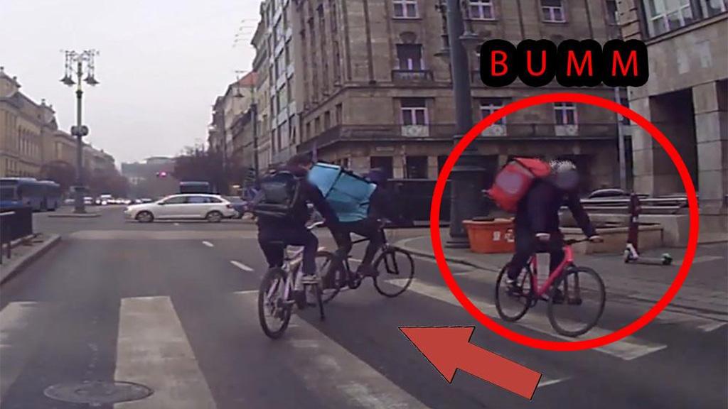 Biciklis baleset