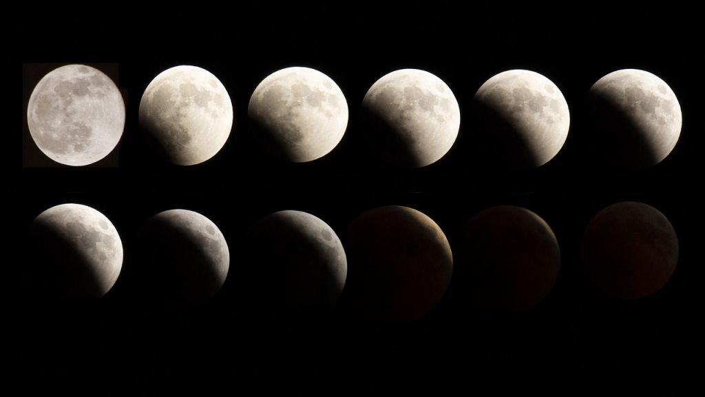 A Hold különböző fázisai