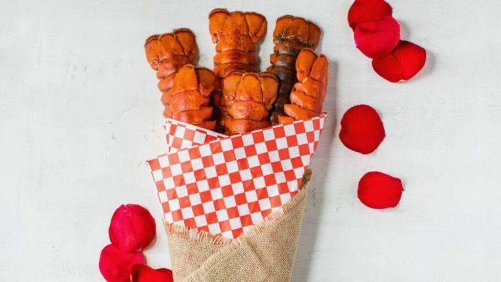 Ilyen homárcsokorral kedveskedhetsz Valentin-napra (Fotó: Maine Lobster Marketing Collaborative)