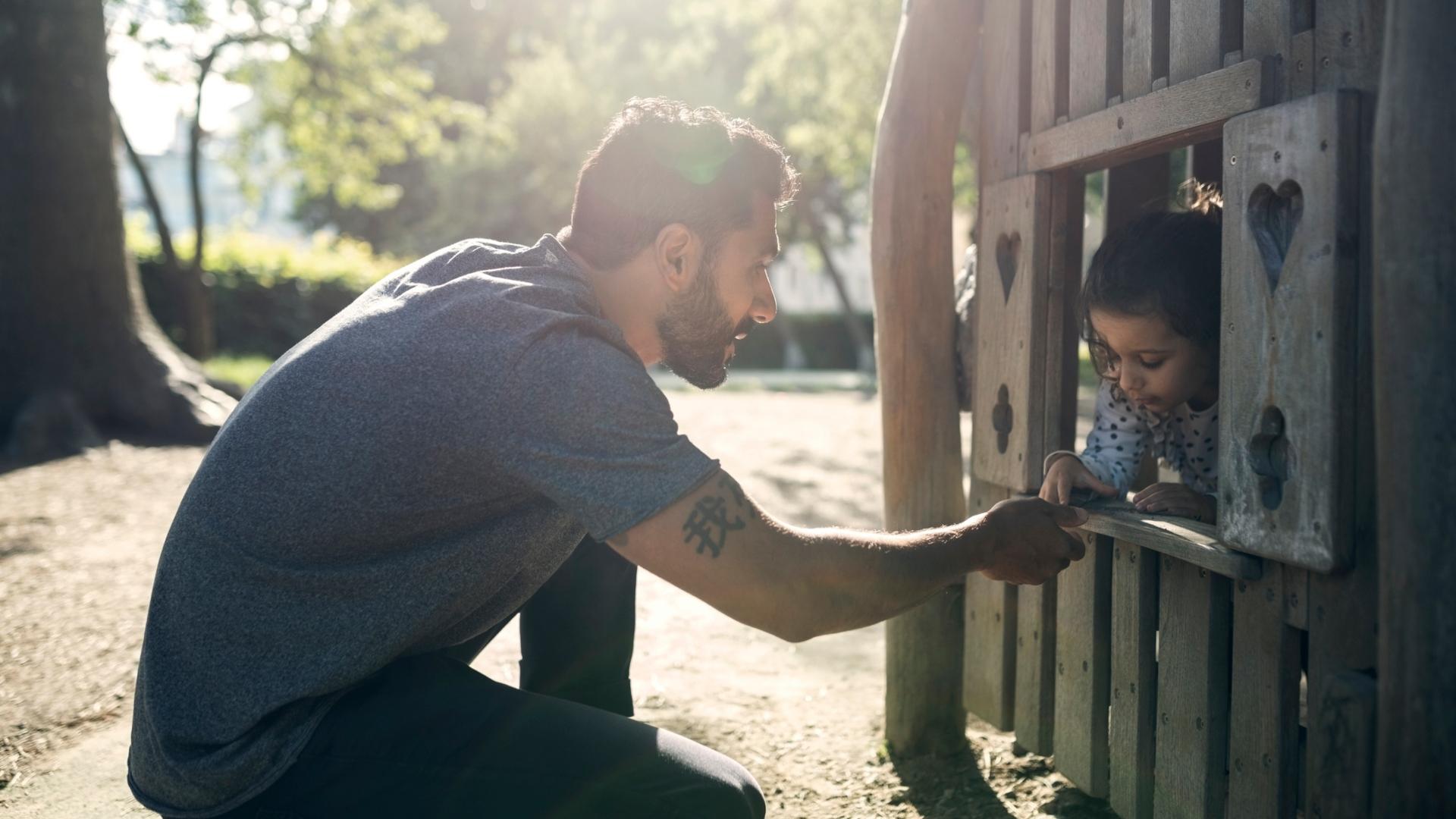 Introvertált apák és a gyereknevelés