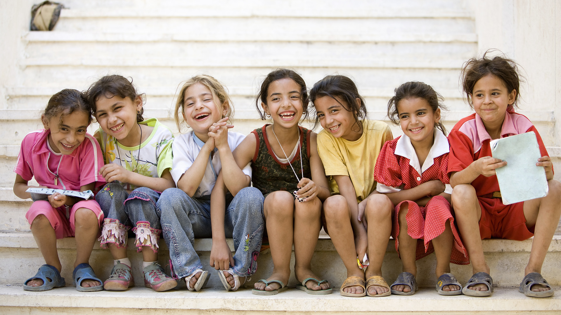 Kairói gyerekek