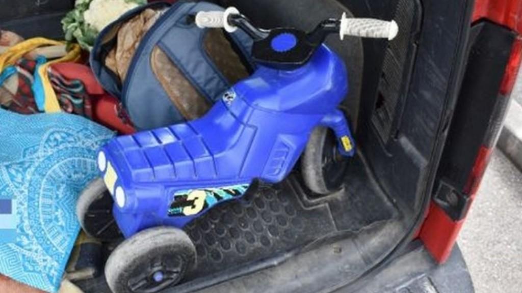 Az érintett kismotor (fotó: police.hu)