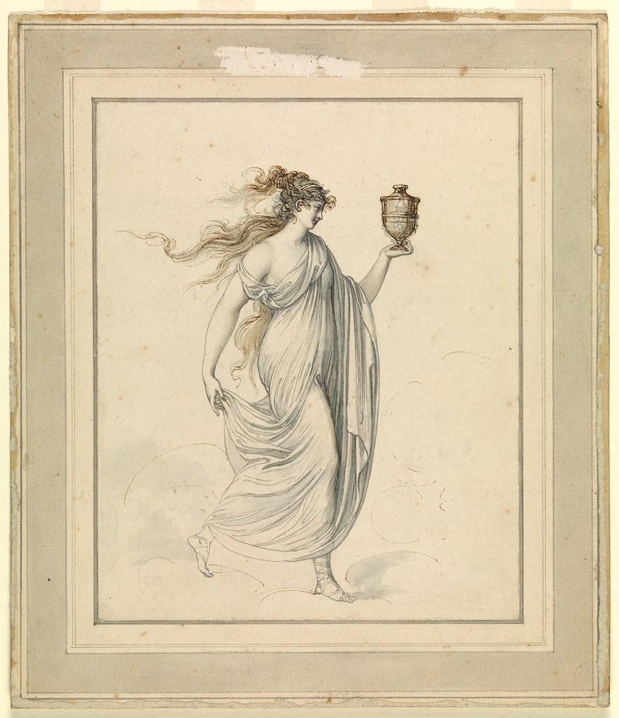 Lady Emma Hamilton mint az Egészség Istennője (forrás: collections.rmg.co.uk)
