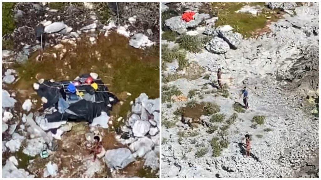 Három ember rekedt a lakatlan szigeten
