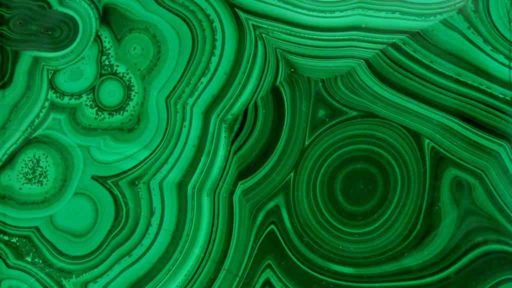 malachit ásvány kristály