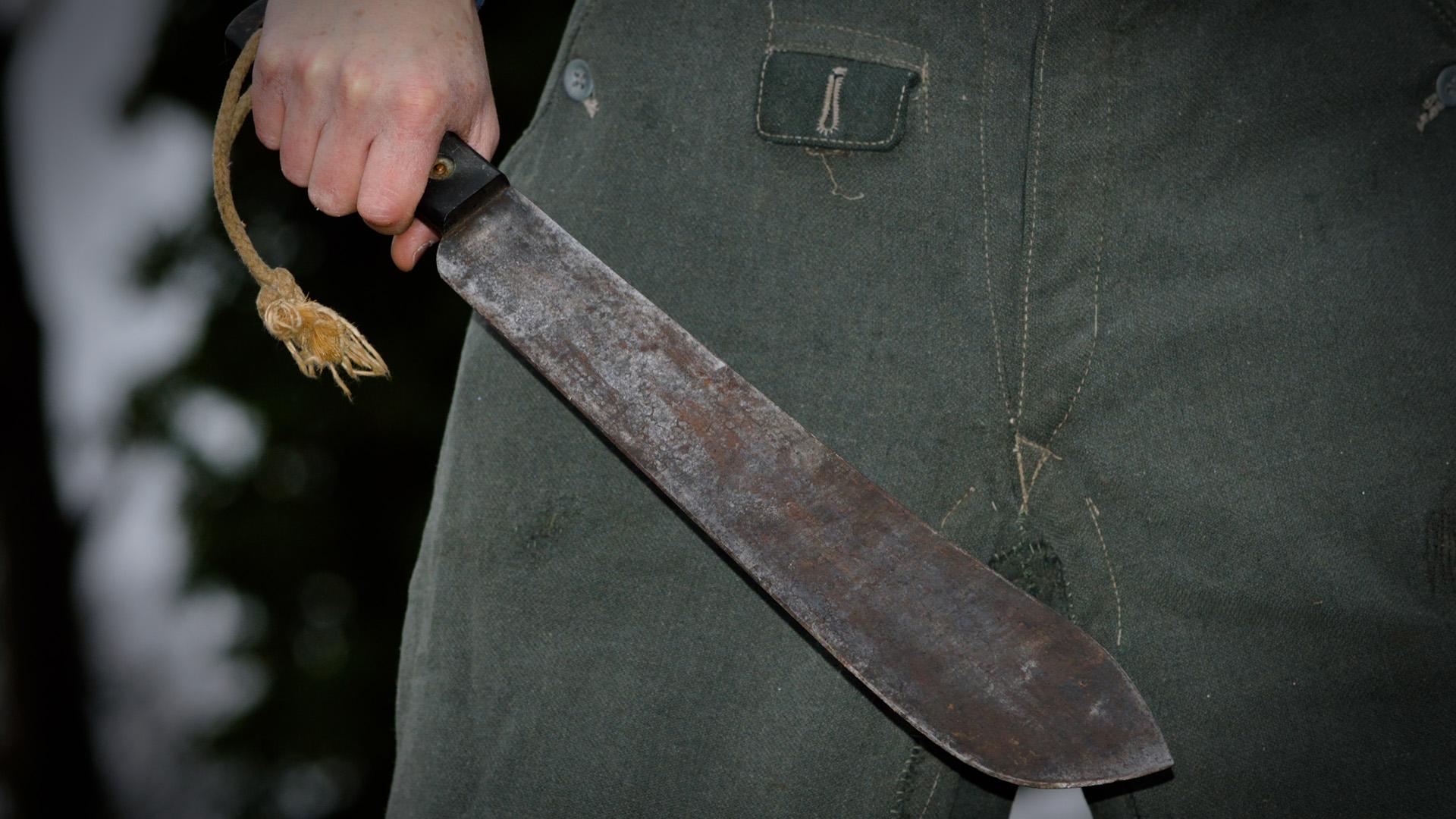 Bozótvágó kés