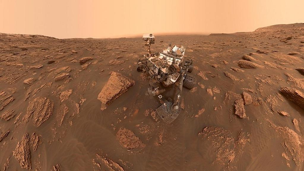 Landolt a Marson a Perseverance marsjáró