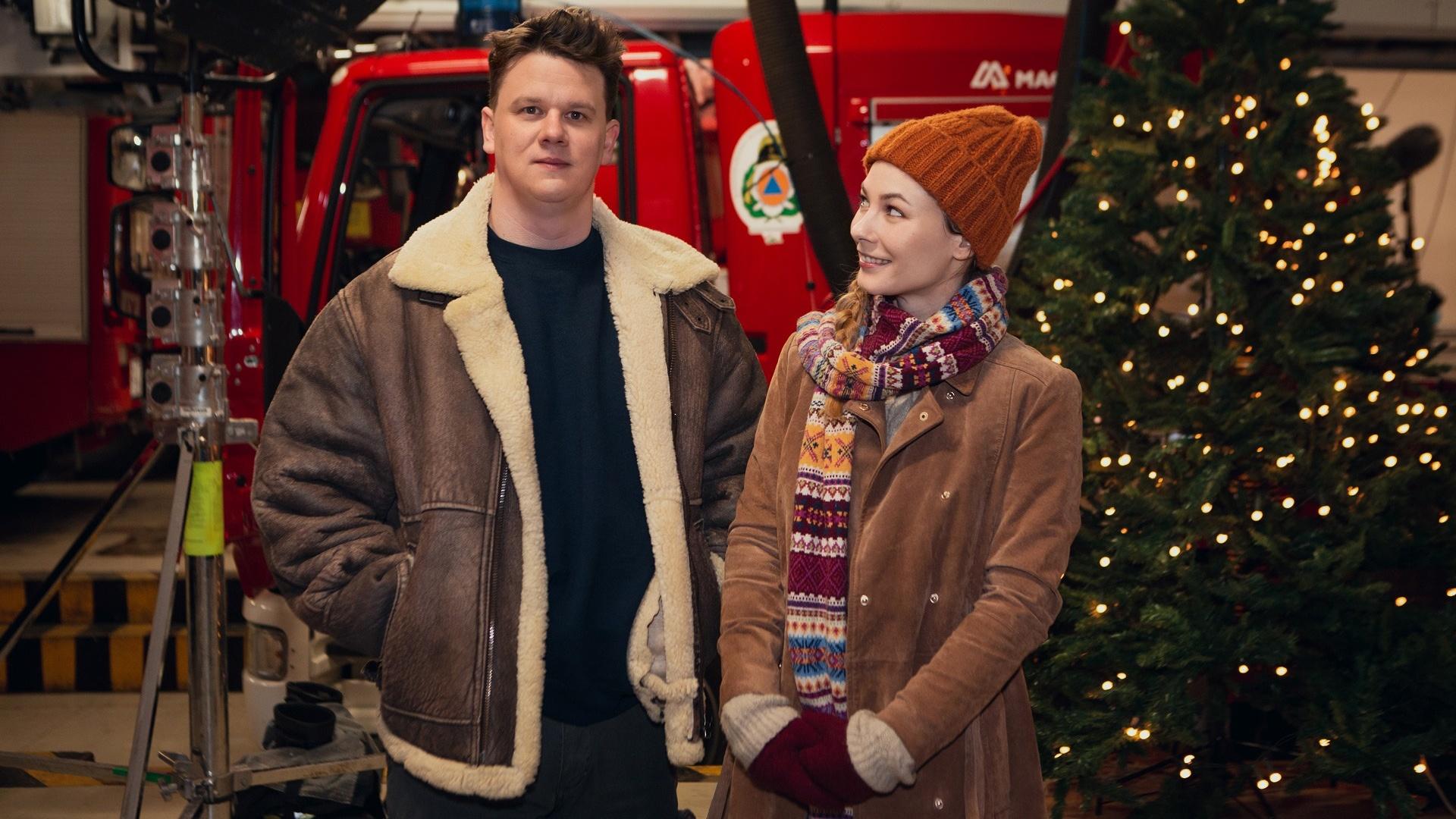 A Nagykarácsony című film forgatása