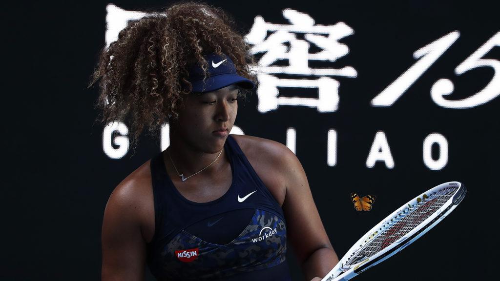 Lepke zavarta meg az ausztrál teniszbajnokságot