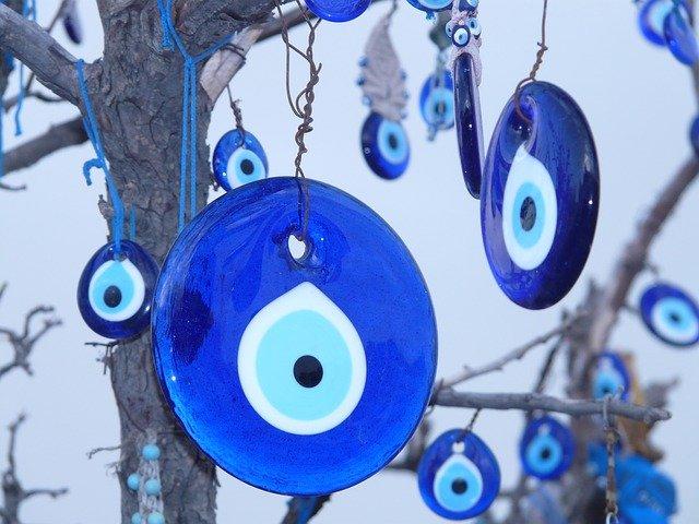 amulett nazar kék szem
