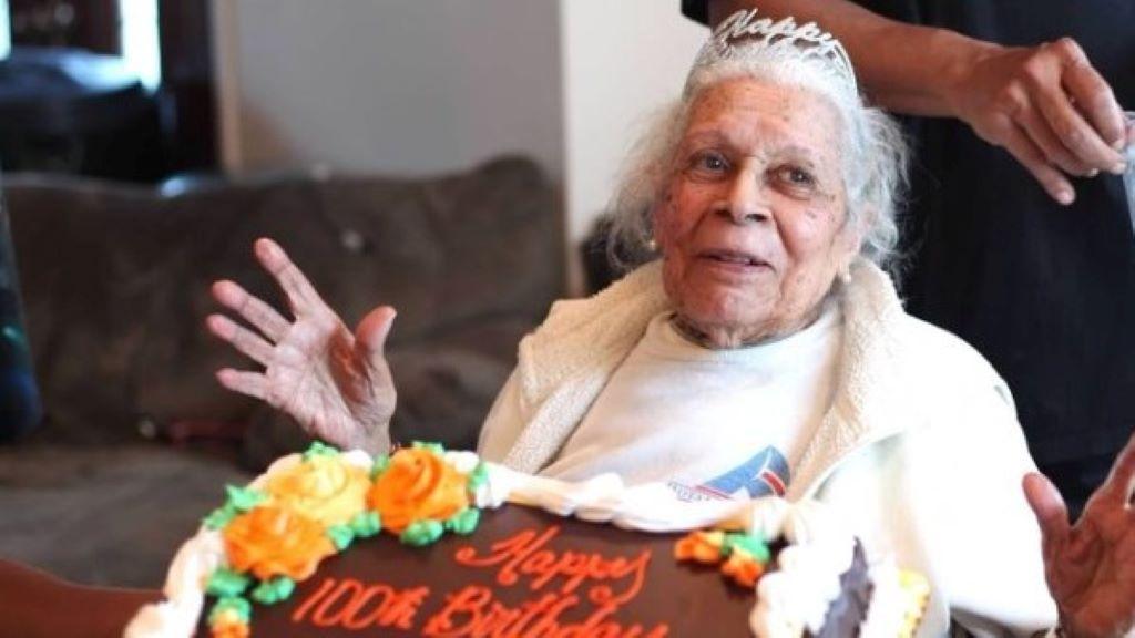 koronavírus, időskor, idős asszony