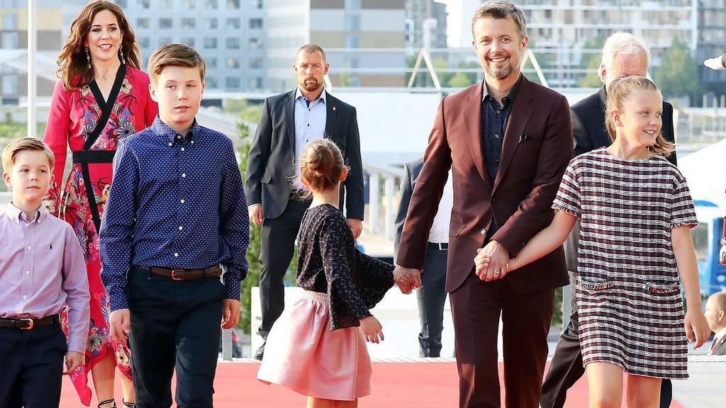 Dán királyi család