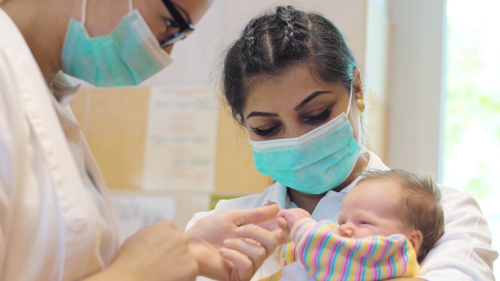 10 éve a Bethesda Gyermekkórház ápolójaként