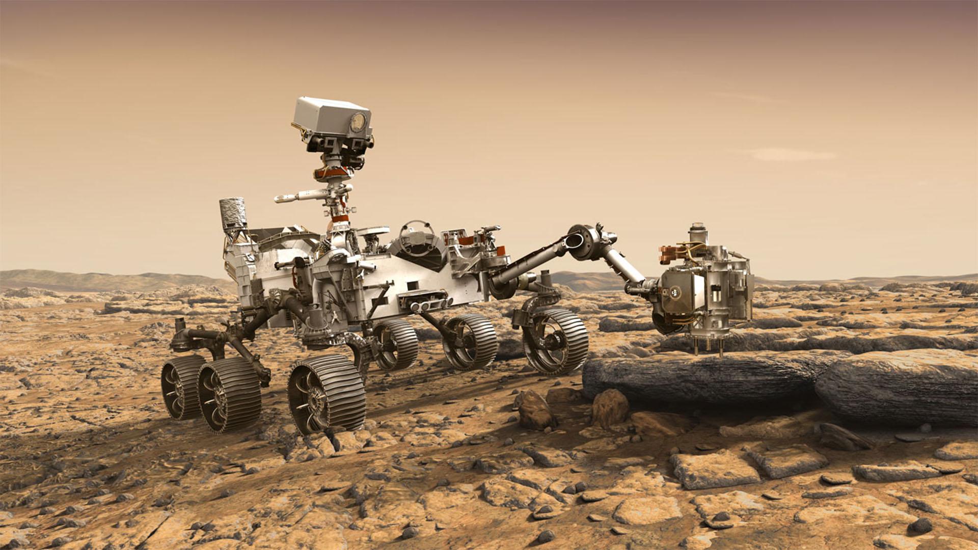 Íme a NASA marsjárón elrejtett titkos üzenet