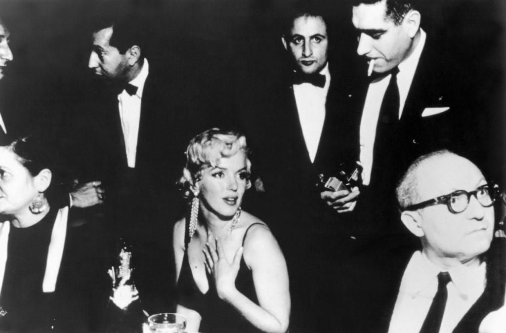 Marilyn Monroe és Lee Strasberg
