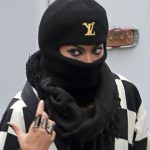 Beyoncé 2013-ban, balaklavában. (