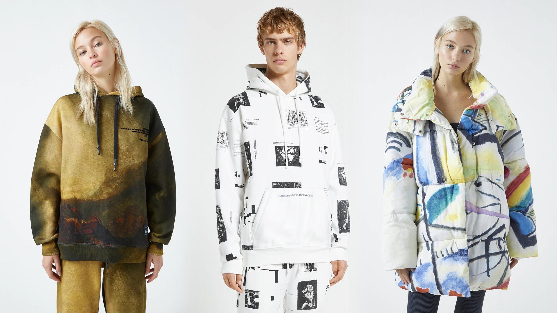 A képzőművészet az új Fila-táska és NASA-póló