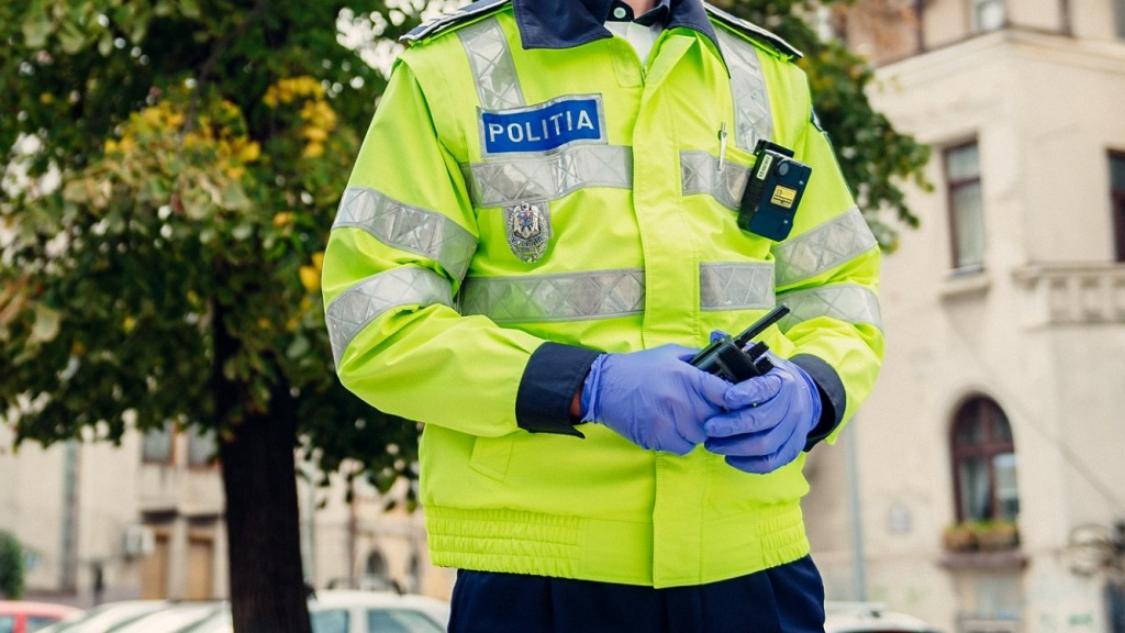 Romániai rendőr