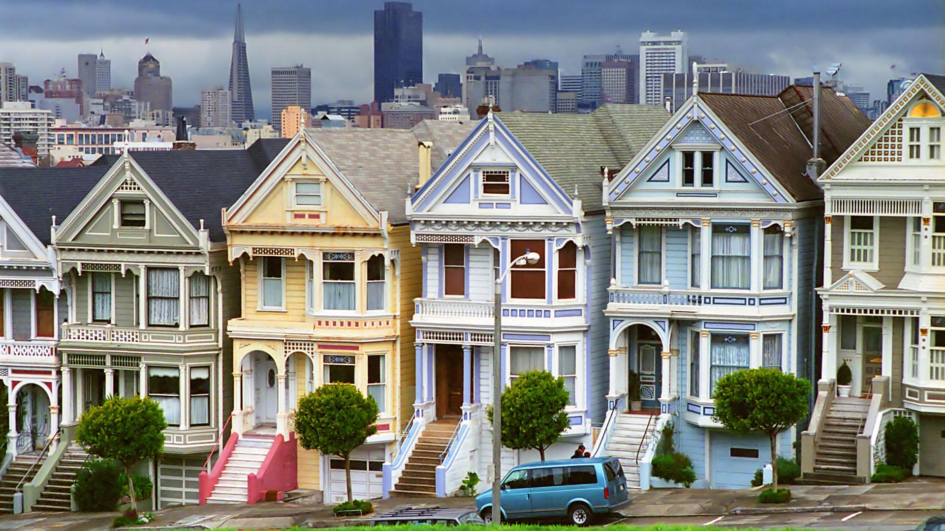 140 éves házat gurítottak arrébb San Francisco utcáin