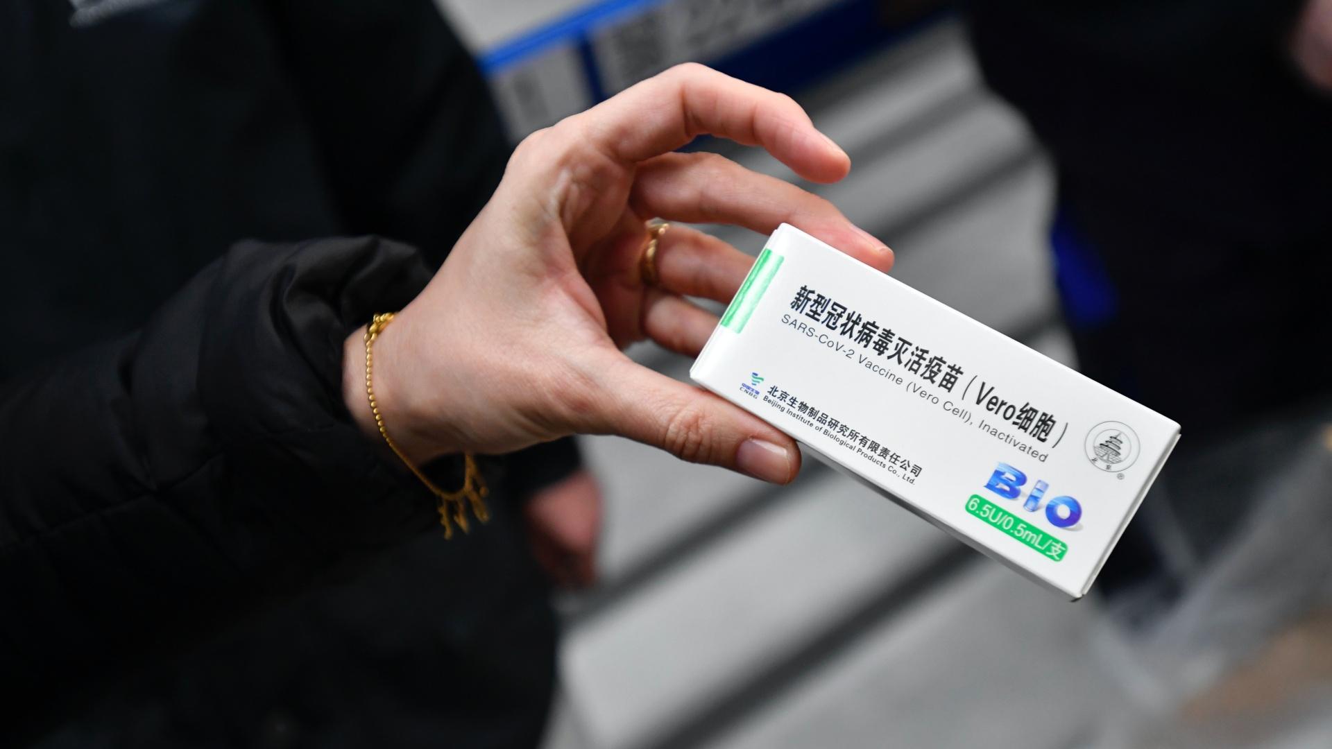 A kínai Sinopharm koronavírus-vakcina