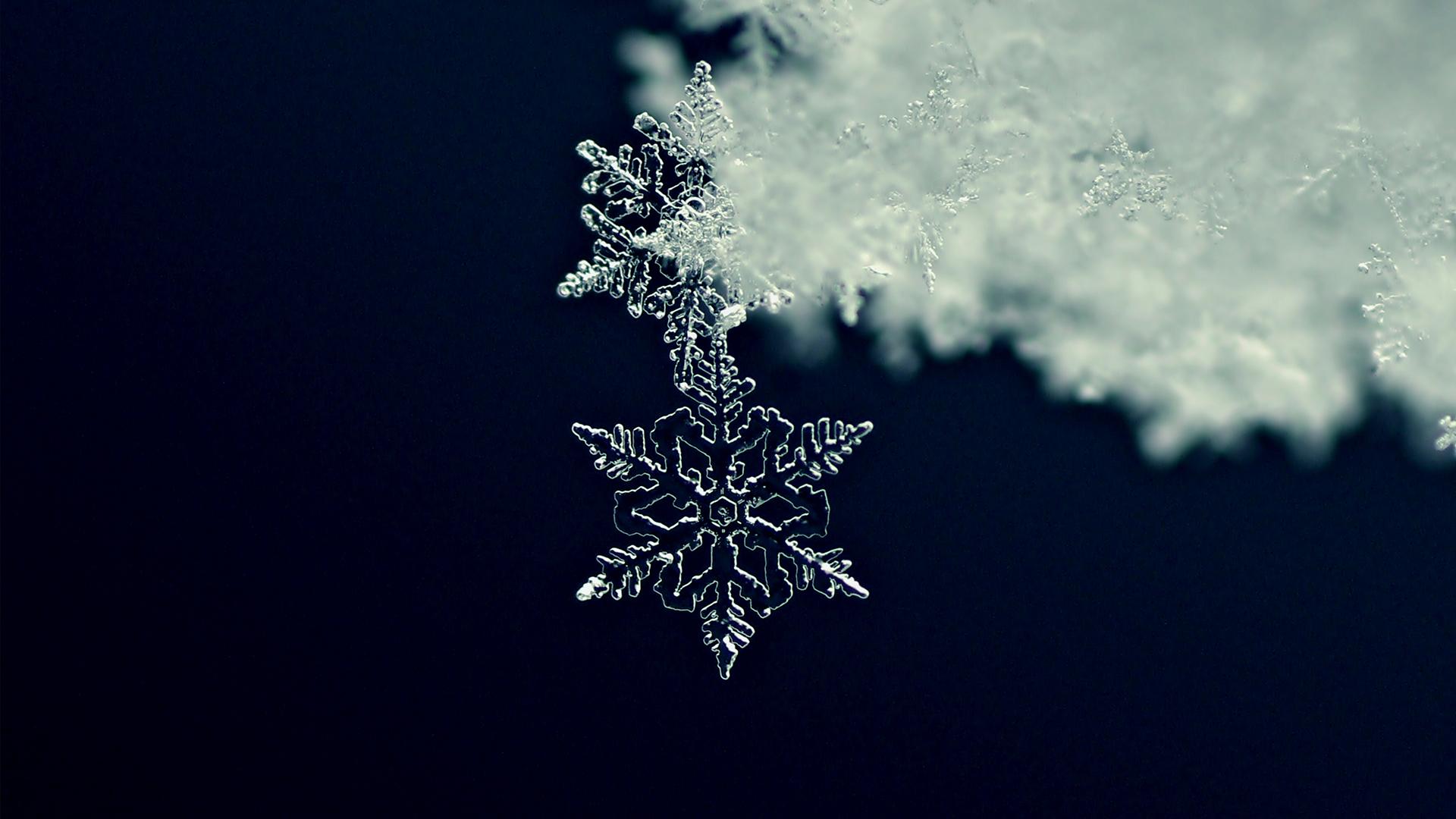 Olvadó hópelyhekről készült lélegzetelállító videó