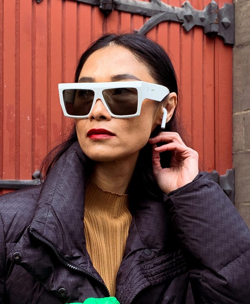 sportos napszemüveg - street style