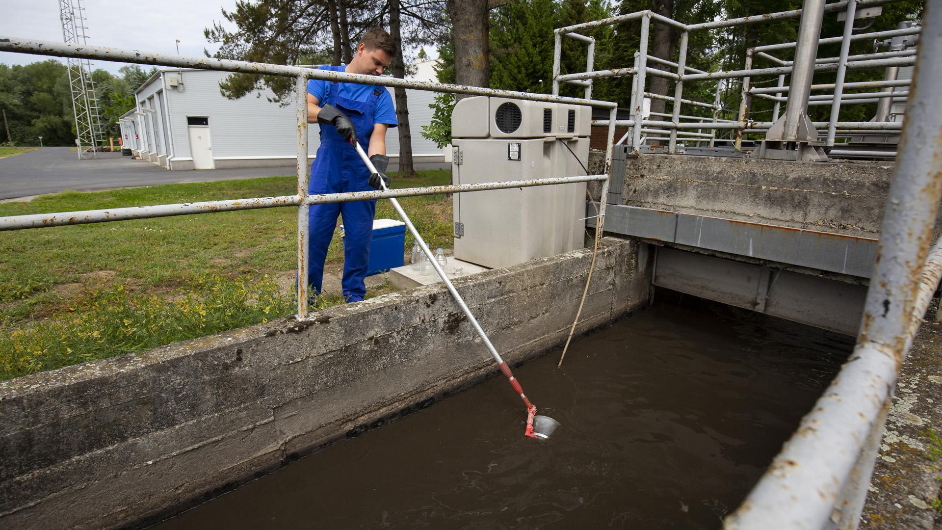 Koronavírusteszt a szennyvízből