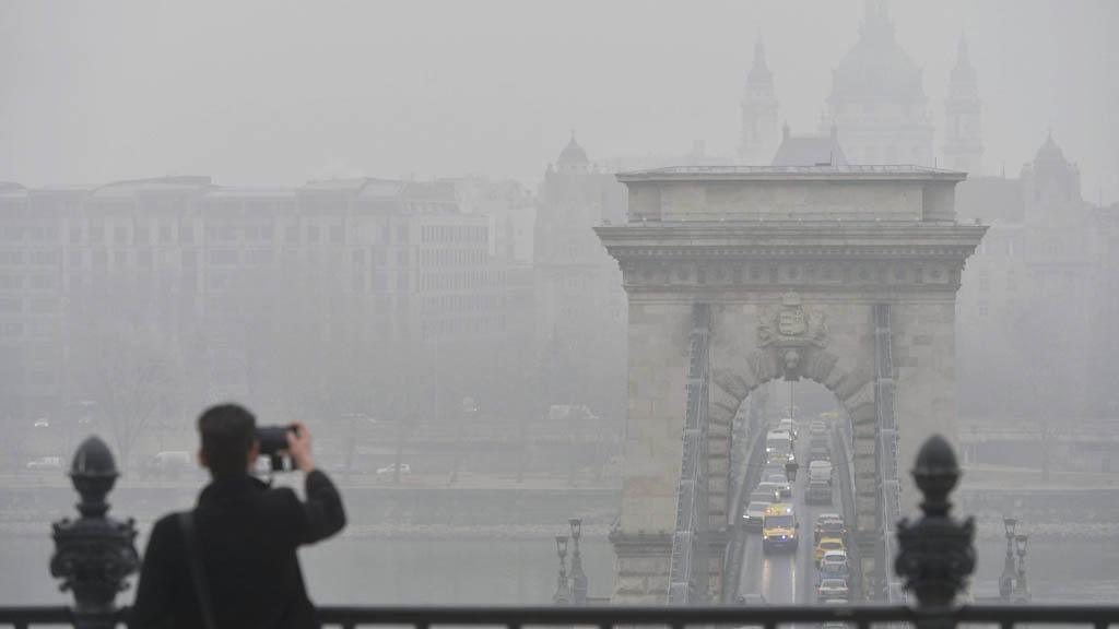 légszennyezettség budapesten