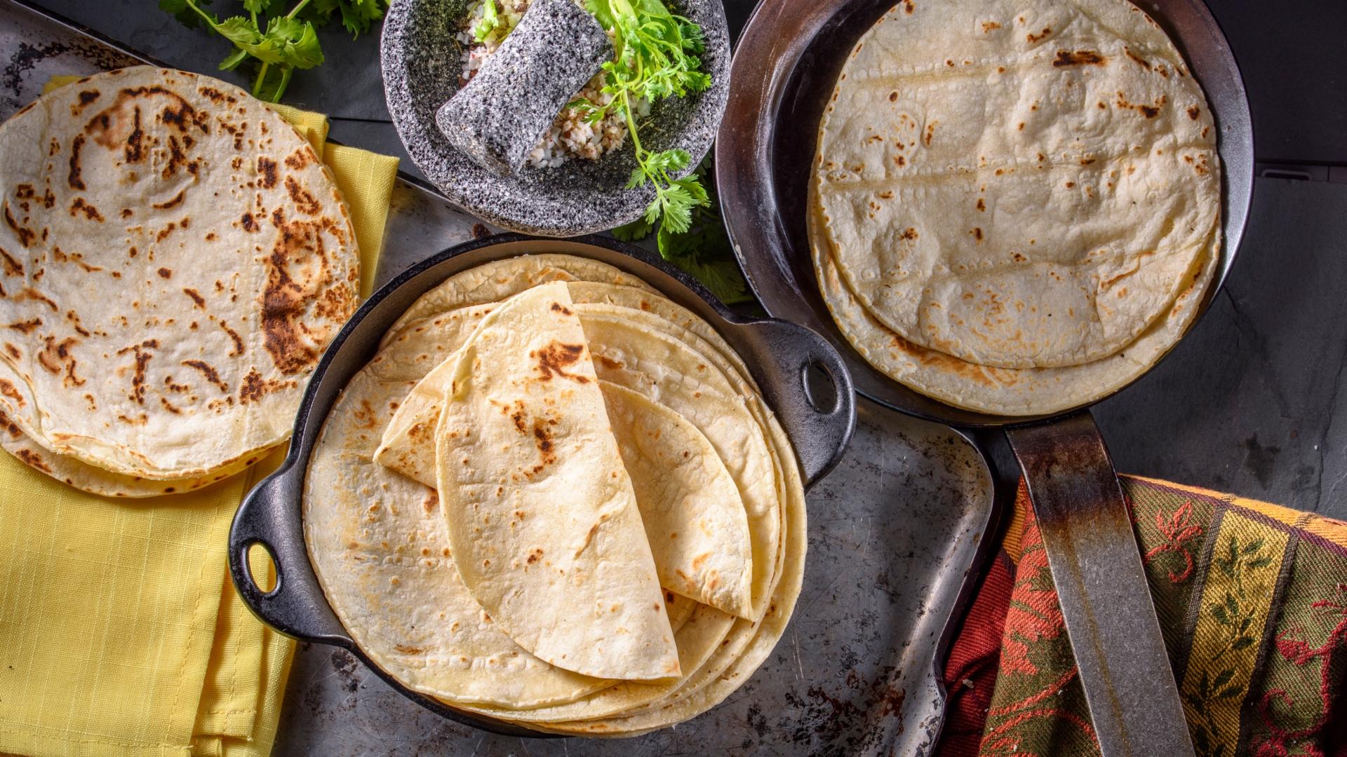 Három recept tortillából