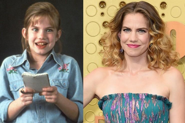 Anna Chlumsky egykor és felnőttként (Fotók: Profimedia/Getty Images)