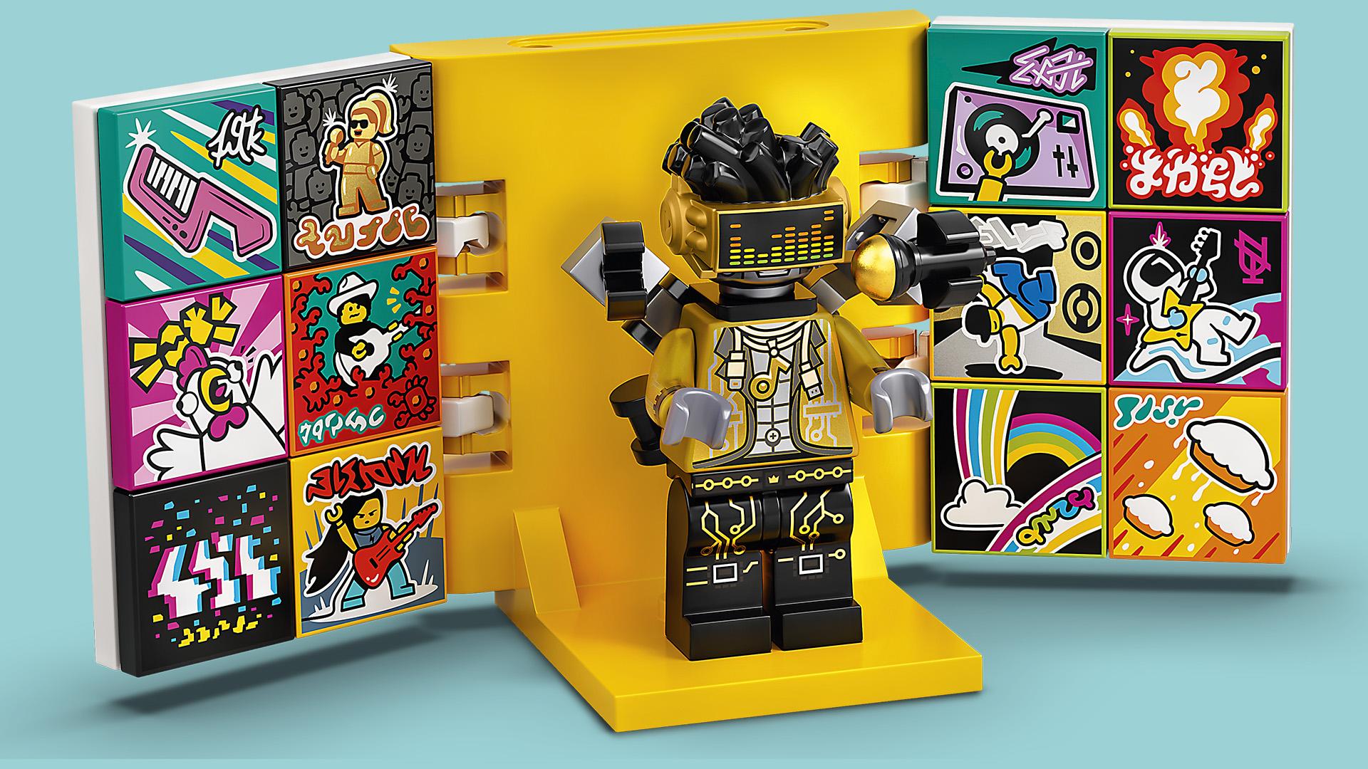 A LEGO a zene világát is meghódította