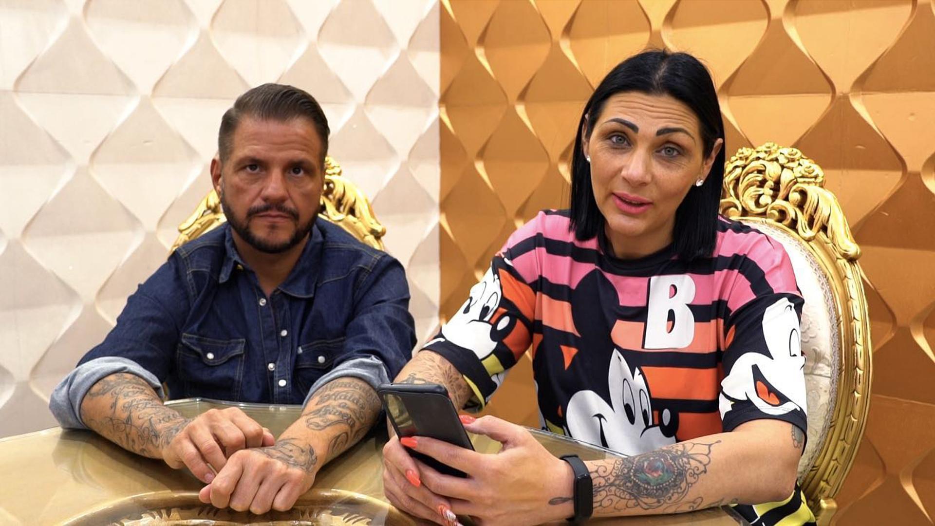 Jellinek Tina és Emilio a családbővítésról