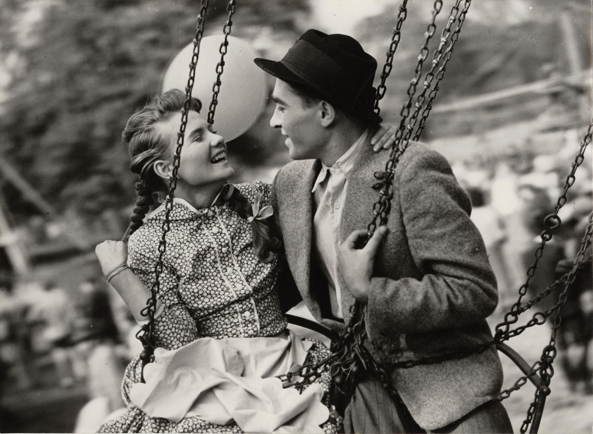 Fábri Zoltán Körhinta c. filmjében, 1956. (Fotó: Nemzeti Filmintézet)