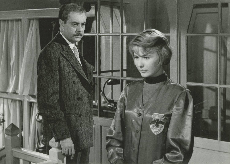 Vasvirág c. filmben, 1958. (Fotó: Nemzeti Filmintézet)
