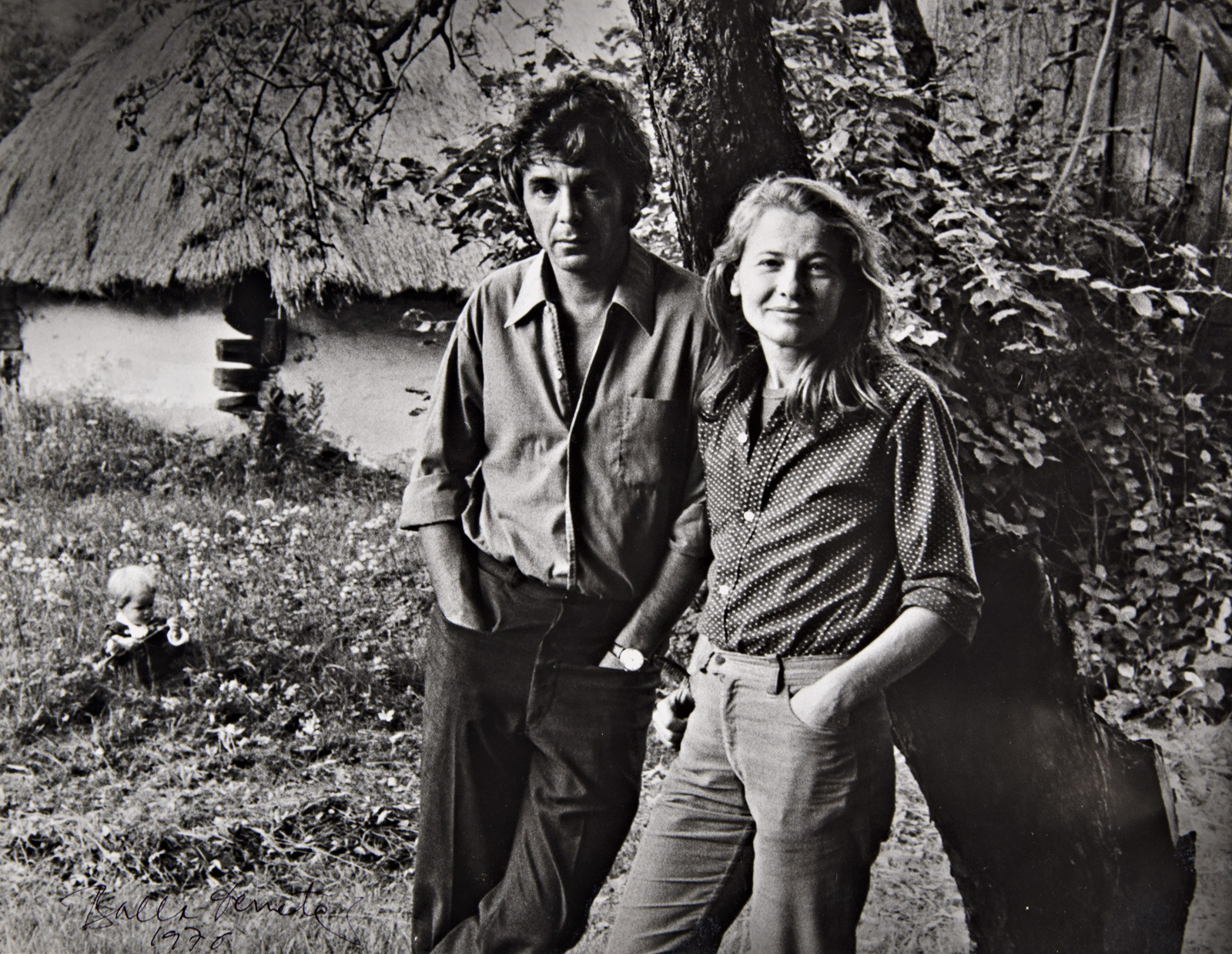 Törőcsik Mari és Maár Gyula, 1976. (Fotó: Fortepan)