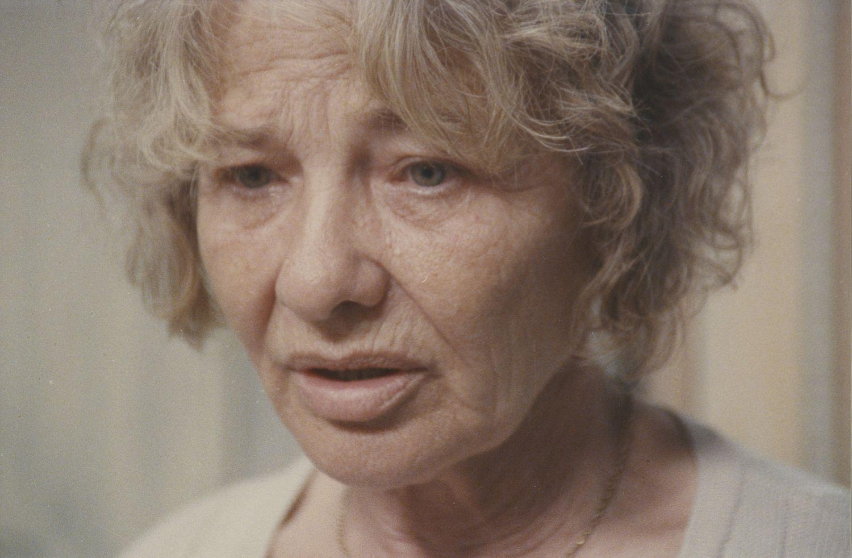 Törőcsik Mari a Hosszú Alkony c. filmben, 1997-ben (Fotó: Nemzeti Filmintézet)