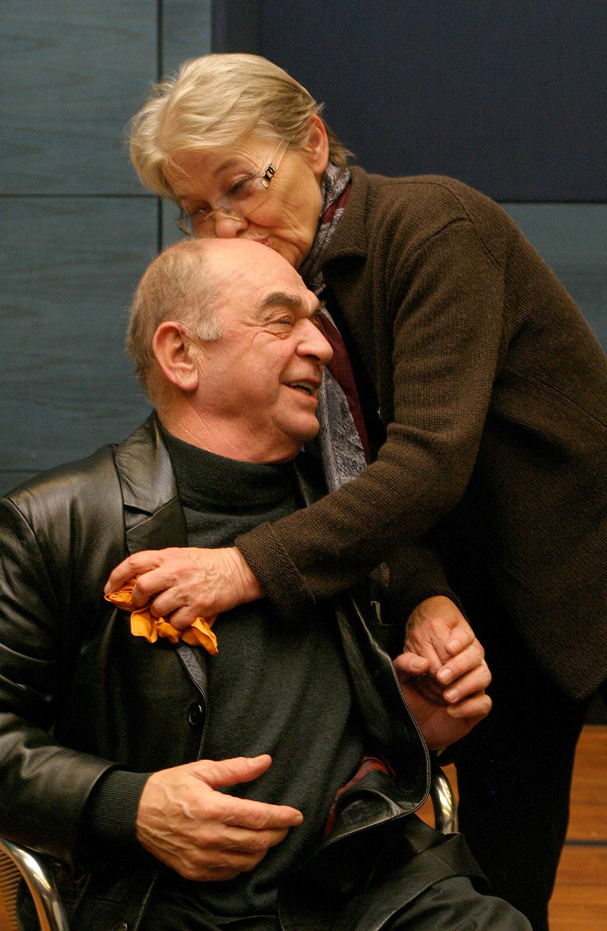 Bodrogi Gyula és Törőcsik Mari 2008-ban (Fotó: Csibi Szilvia)