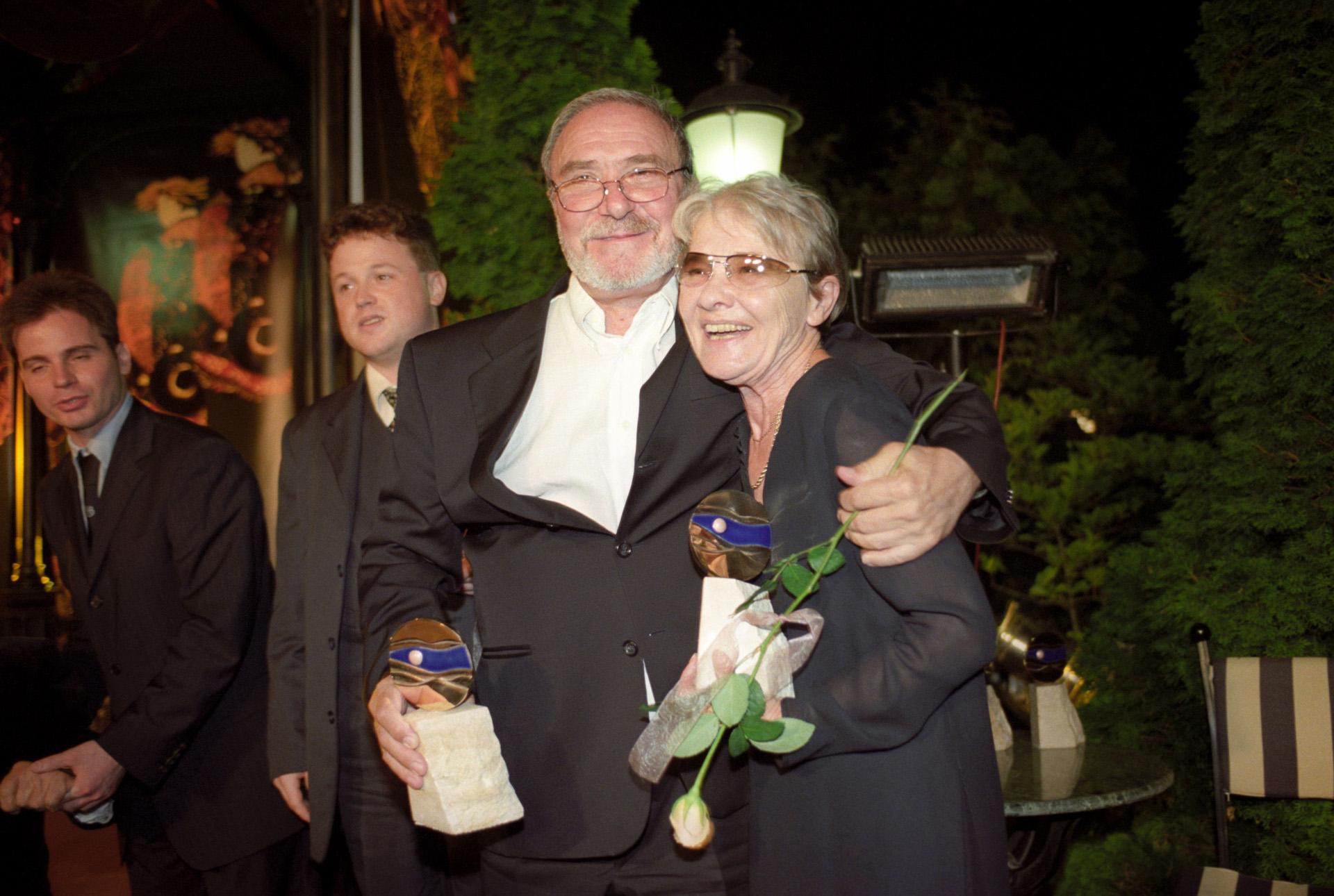 Tordy Géza és Törőcsik Mari, 2012-ben (Fotó: Mohos Angéla)
