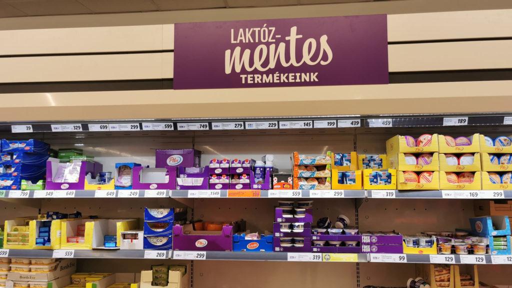 Laktózmentes termékek a Lidl-ben
