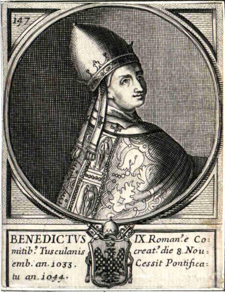 IX. Benedek pápa (forrás: Wikipedia)