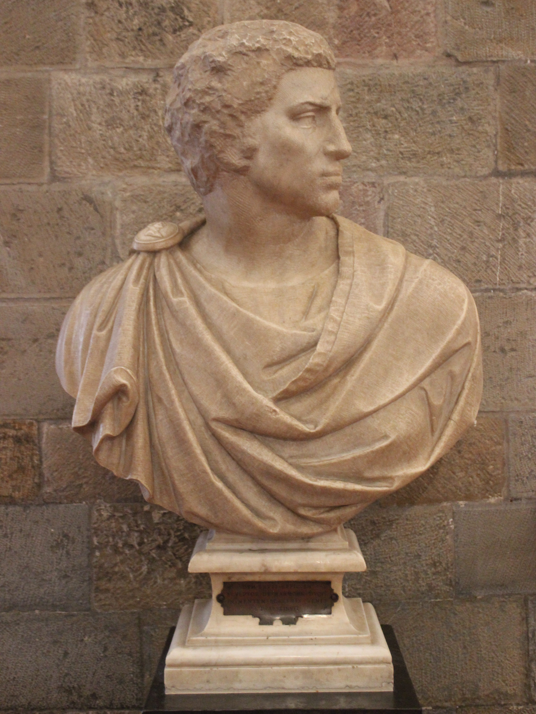Michelangelo Brutus-mellszobra (fotó: Wikipedia)