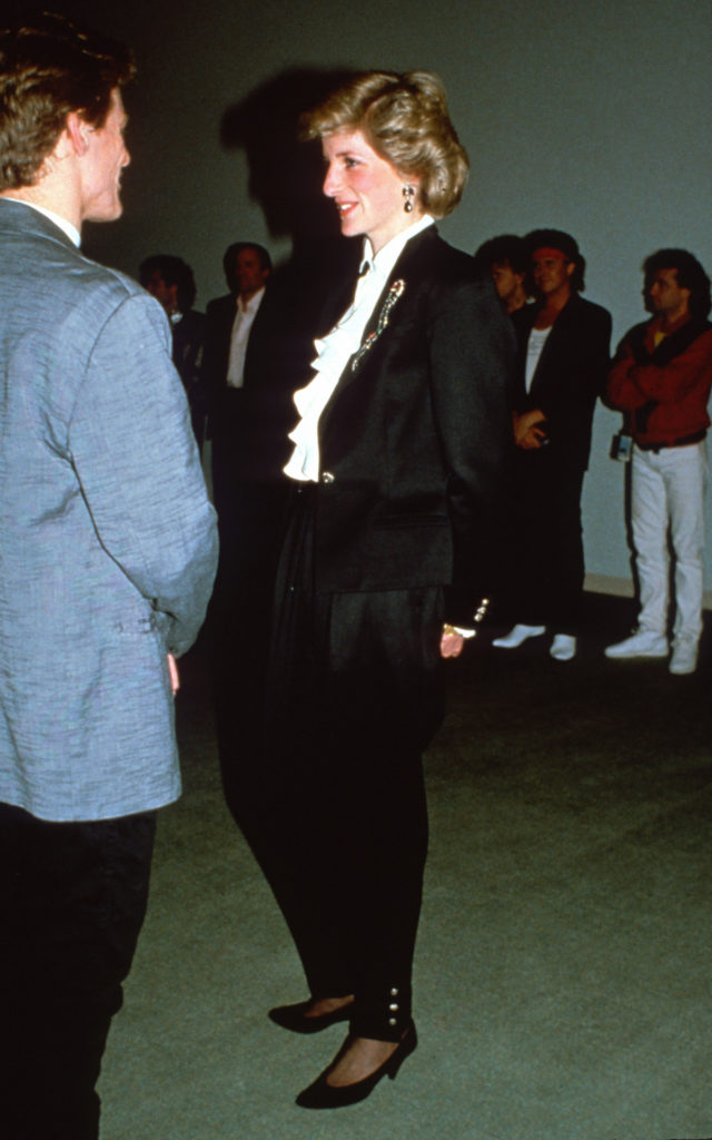 Bryan Adams és Diana hercegnő egy kanadai rendezvényen, 1986-ban (Fotó: Anwar Hussein/Getty Images)