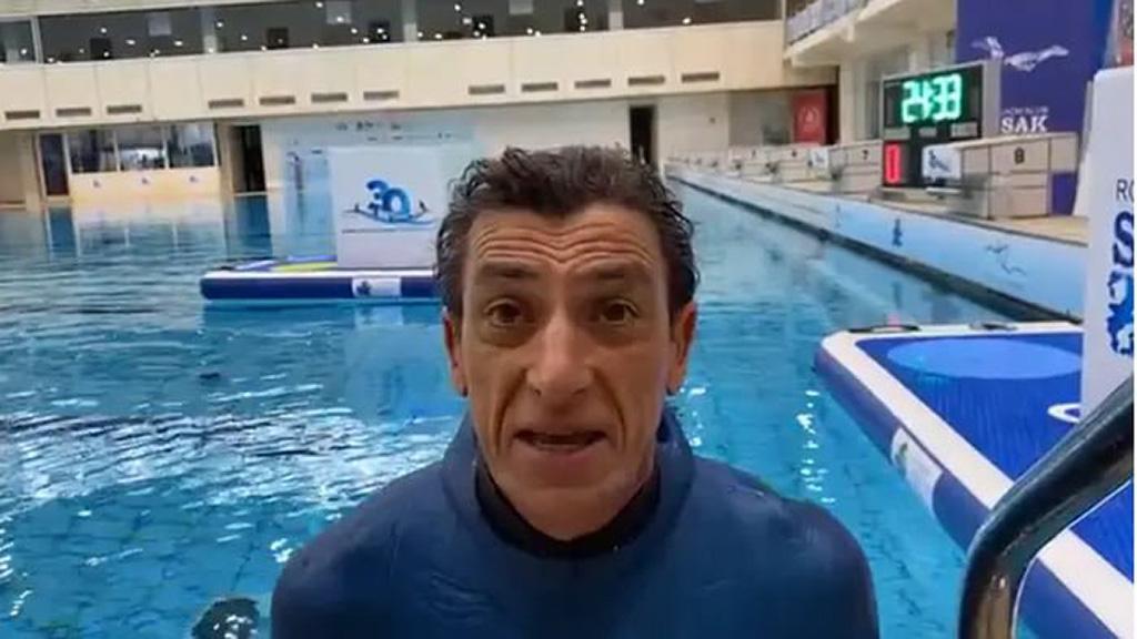Budimir Buda Šobat levegővisszatartás-rekorder