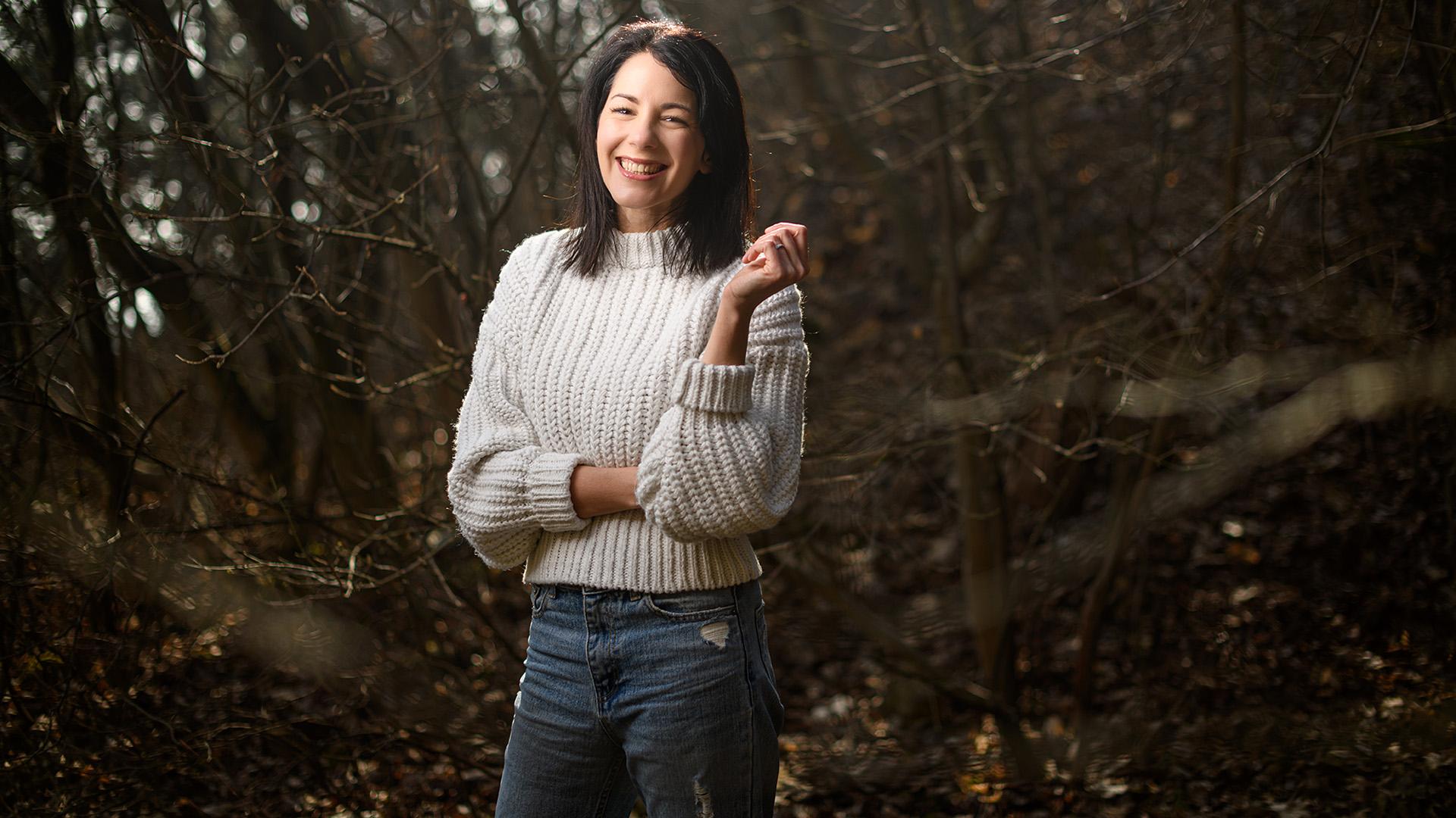 Halász Rita író, a Mély levegő szerzője